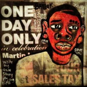 2013 one day only to buy your freedom art by marcellous lovelace