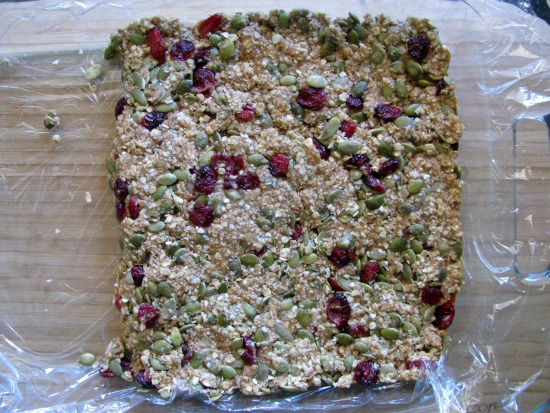 cranberry almond bars