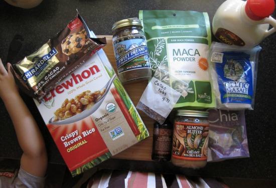 crispy rice ingredients