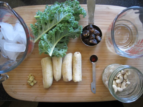 kale shake ingredients