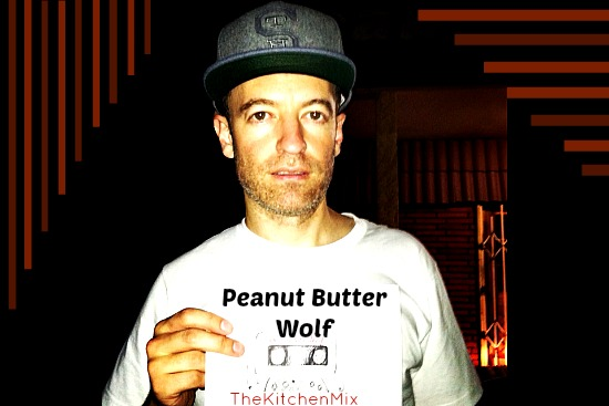 Peanut Butter Wolf…not a foodie