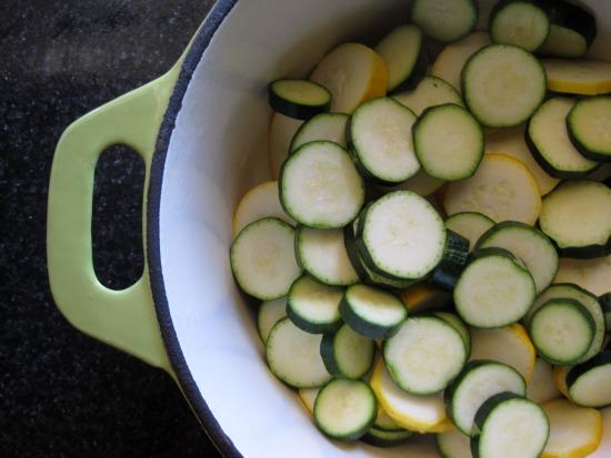 zucchini pot