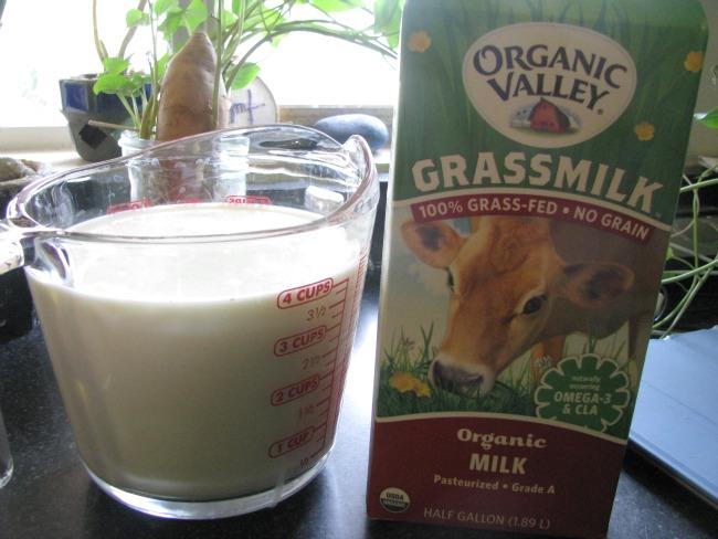 grassfed milk