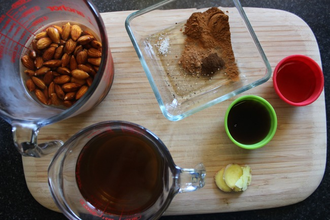 Green tea chai latte ingredients