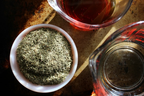 thyme syrup 2