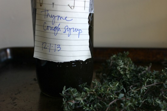 thyme syrup