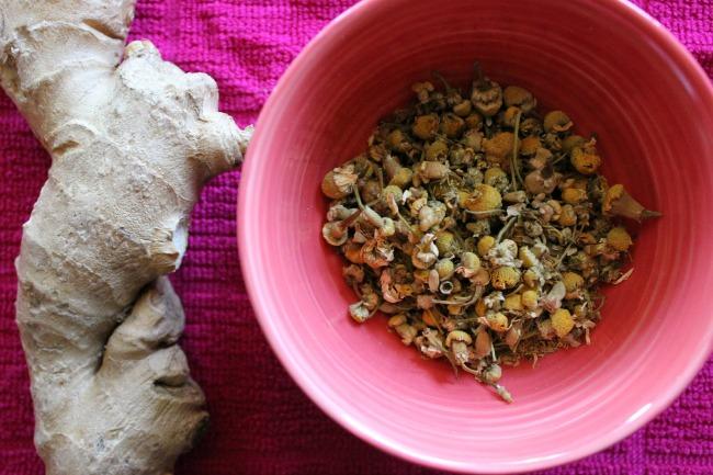ginger chamomile