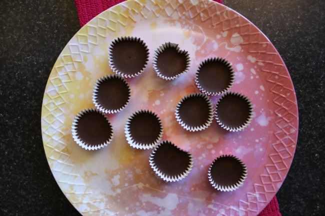 maca chocolate cups