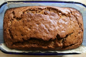 Maple & Olive Oil Banana Bread